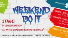 Weekend do it – Stage di avvicinamento al Match d'improvvisazione